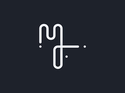 MF marcos felipe logotype identity branding brand logo