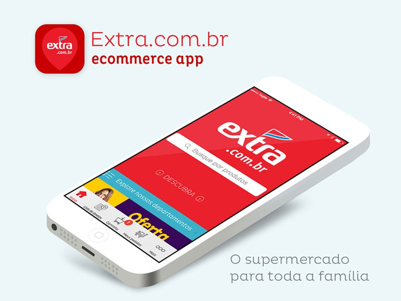 Extra extra android windows ios ecommerce app mobile