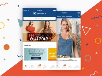 Posthaus - iOS app