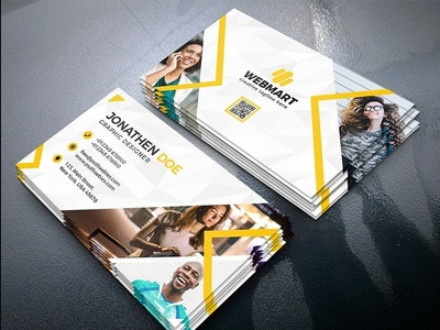 Business Card Psd Free