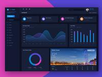 Report Analytics Admin Dashboard Panel
