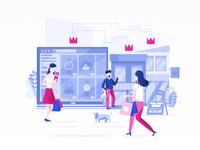 Store Isometric Illustration Inspiration