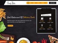 Tastybite Food Restaurant WordPress Theme