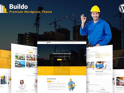 Buildo Architecture Construction Wordpress Theme architechture construction ux ui web design webdesign wp wordpress themes wordpress construction wordpress theme