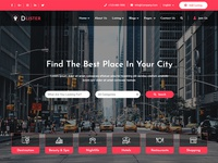 Directory & Listing HTML Template