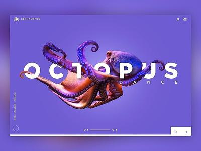 Landing page design concept themeforest html5 css3 html template graphics uidesign adobe adobexd octopus wordpress ux ui web landingpage landing page website