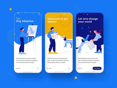 Application for arts & painting developer artist android app painting art landing page app design webdesign ui ux uidesign webui ios developer ios android application app mobile