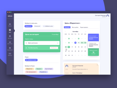 UI/UX – Private office