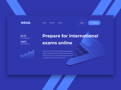 Prepare for international exams online