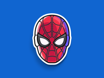 Spider-Man sticker 2