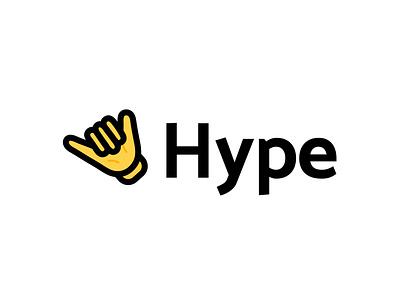 Hype Logo vector awesome simple adobe arinjay illustration icon logo branding illustrator icon logo logo symbol symbol icon icondesign logodesign logo icon symbol hand hype