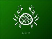 Cancer - #4 quirky gypsy zodiac illustration