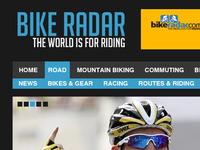 BikeRadar.com Header & Links