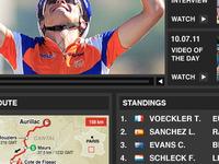 Le Tour Concept Standings/Route/Media