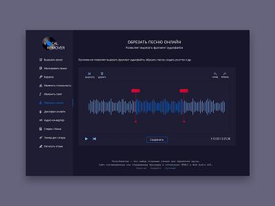 Sound Service music sound wave sound dribbbble shot design