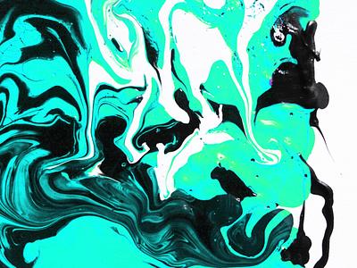 Marble blue artdirection branding color palette blue colors design illustration painting