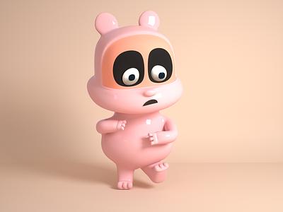 ip bear ui  design  c4d