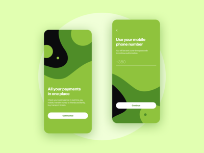 Banking App — Sign in
