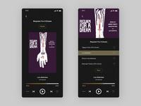 Daily UI | Music Player music player music app music app ui daily 100 challenge daily ui
