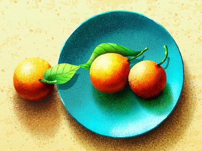 Fruit Illustration Texture