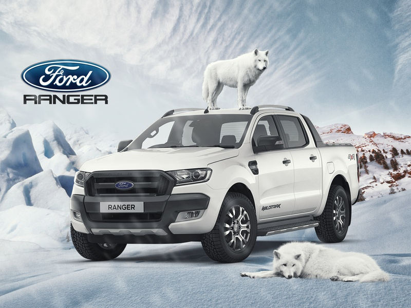 Ford Ranger (UNOFFICIAL) graphicdesign vector ui typography ios book web layout app adobe grapicdesign advertising uiux graphic branding logo photoshop ilustration digitalimaging design