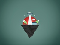 Ufo flat