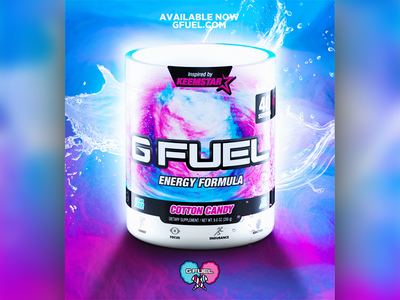Cotton Candy GFuel Advertisement