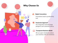 Why Choose us (landing page)