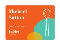 Chef Name Tag