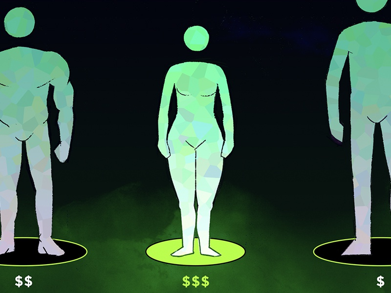 How Much is Your Body Sleeve freelancer director art design drawing joshlees illustration