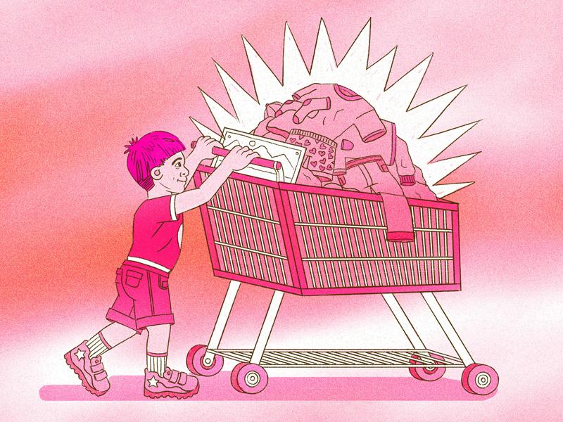 Cool Clothing For Your Kids freelancer director art design drawing joshlees illustration