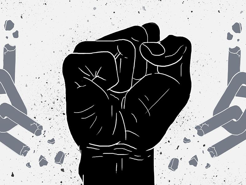 50 Years of Black Powers Most Enduring Symbol freelancer director art design drawing joshlees illustration