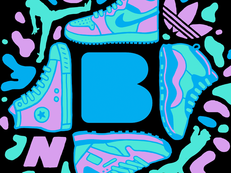 Brooklyn Museum Sneaker Exhibit freelancer director art design drawing joshlees illustration