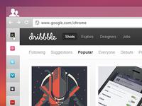 Chrome VertiTabs concept Hidden