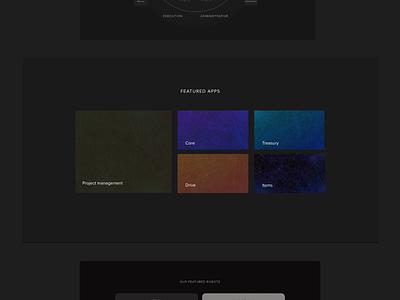 Luxury Website Robotics SaaS abstract dark luxury illustration branding desktop flat web clean ui