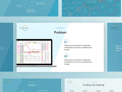Pitch deck presentation for a startup clean visual design graphics pitch slide slide deck keynote powerpoint presentation sales deck