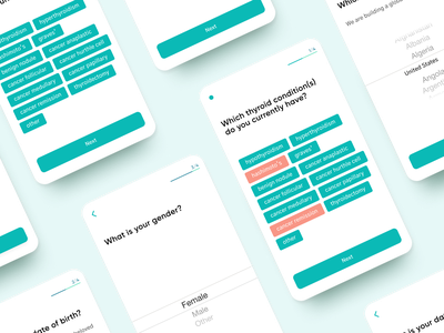 Healthcare Mobile App UX android app healthcare onboarding form design mobile application ux ui
