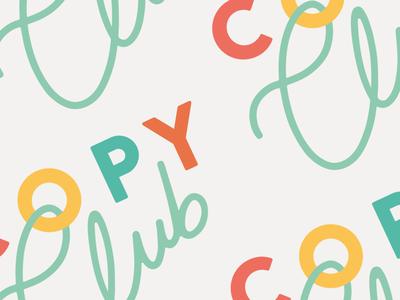 Copy Club logo snippet