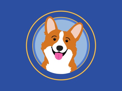 Corgis are for Winners! puppy dog animal design vector illustration corgi