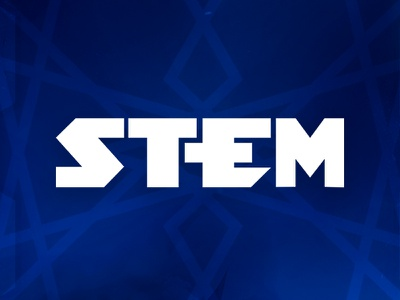 STEM Epic Heroes Logo epic board game branding logo stem