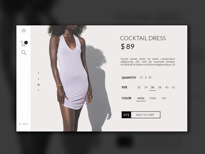 e-commerce product page webdesign interface product page ecommerce ux ui