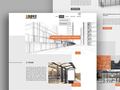 Urban infrastructure desktop ux website webdesign ui