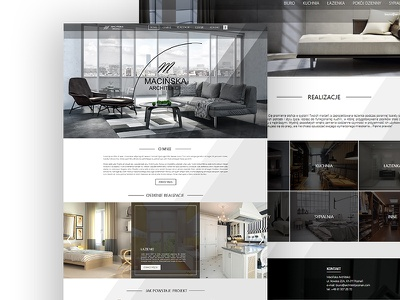 Website for Architect desktop web architecture website webdesign ux ui