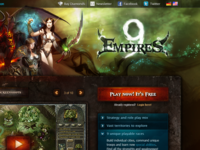 9 Empires Landing Page