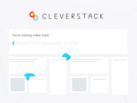 Cleverstack | New Stack Prompt