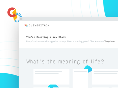 More on the Cleverstack Interface input form text cursor aften screen interface web ux ui