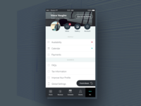 StyleSeat | Mobile Settings and Profile