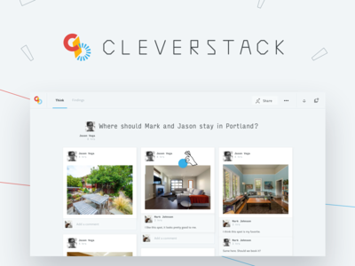 Cleverstack LAUNCH! interface mobile thinking ux  ui ux design app web
