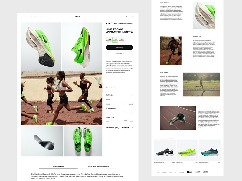 Running Gear Review Website - Shoe Product Review