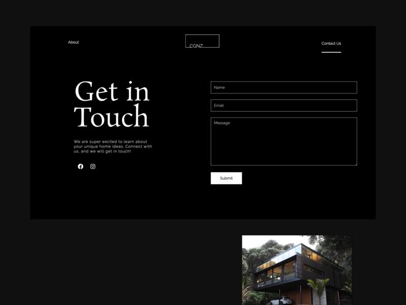 Minimalistic Contact Page clean minimalist minimalism minimalistic webdesign architecture architect minimal agency branding ui ux website design web